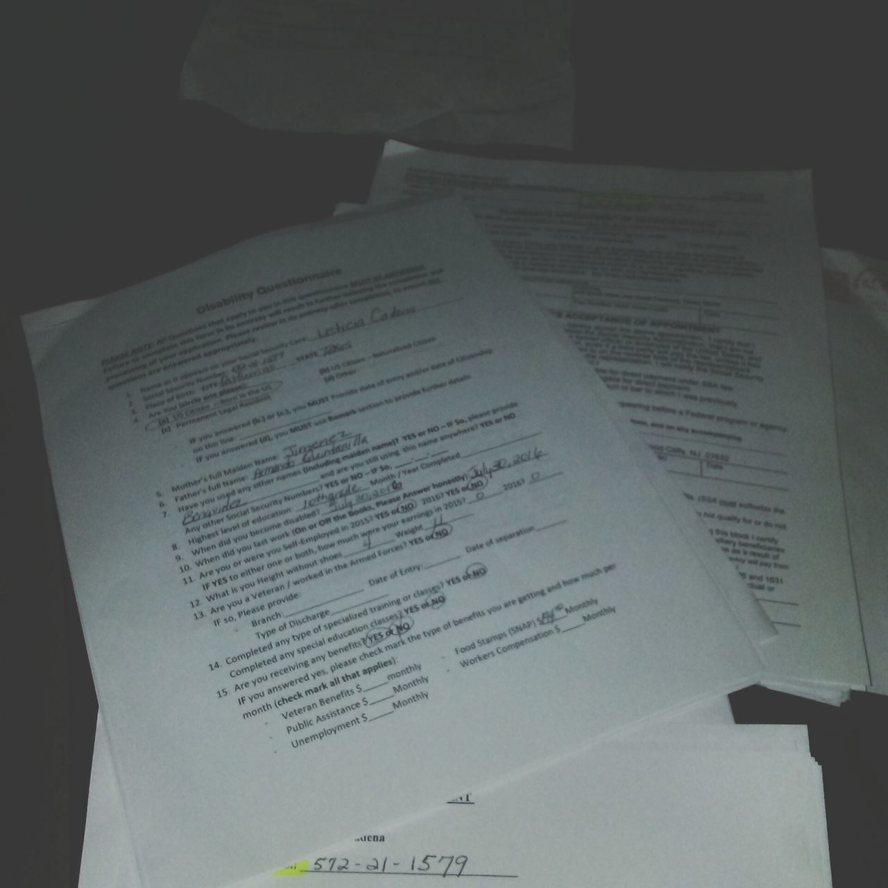 Night Papers Close-up Indoors  Paperwork No People Eyeemphotography