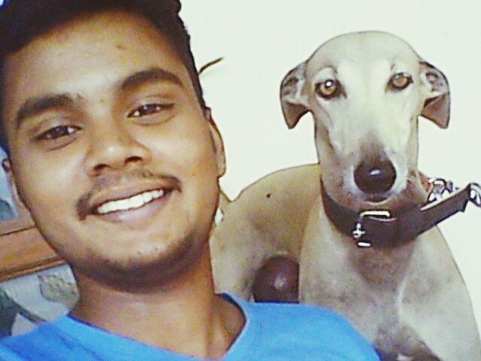 Selfy with my dog