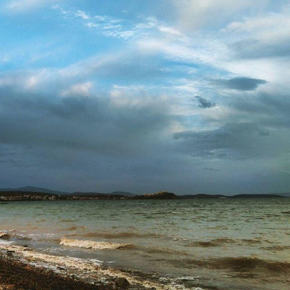 Seaside Beforetherain Clouds