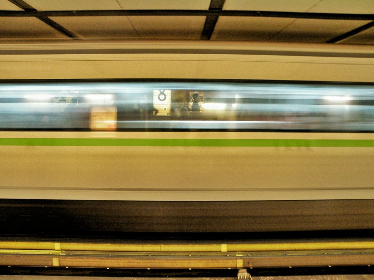 Athens, Greece Athens Subway Station Metro Station Platform Life In Motion Train Motion Blur Motion Transperancy Photography In Motion
