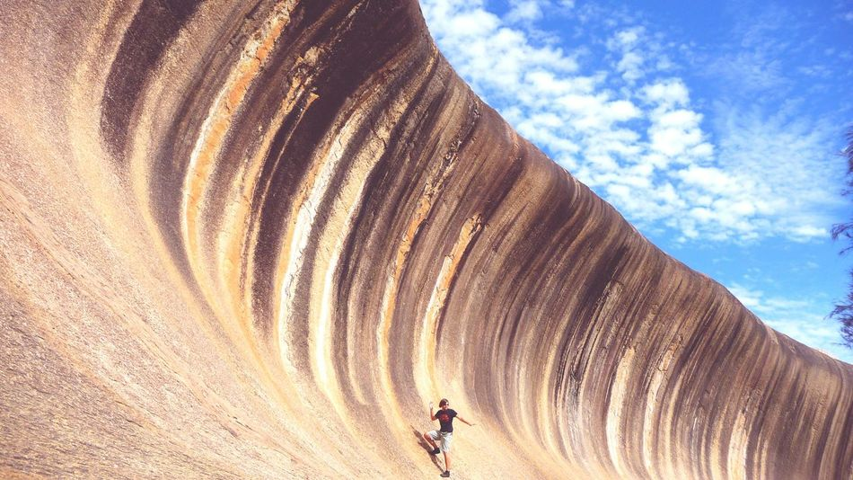 Australia Nature Cloud - Sky Sky Lifestyles Men Outdoors Sand Real People One Person Nature People Only Men Day Adult One Man Only Waverock Miles Away