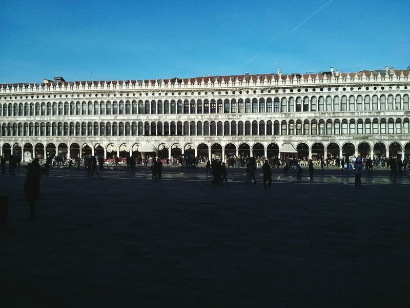 Piazza san marco, venice. · Venezia plaza Square Architecture history urban landscape Sightseeing People watching
