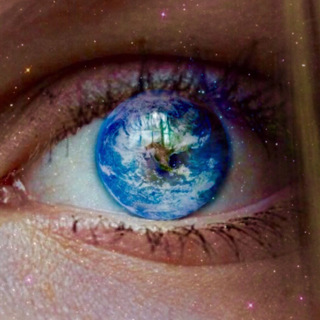 Eye can't sleep🙈 Blue Eyes Earth Wide Awake I Need Sleep 2am Seeing The World