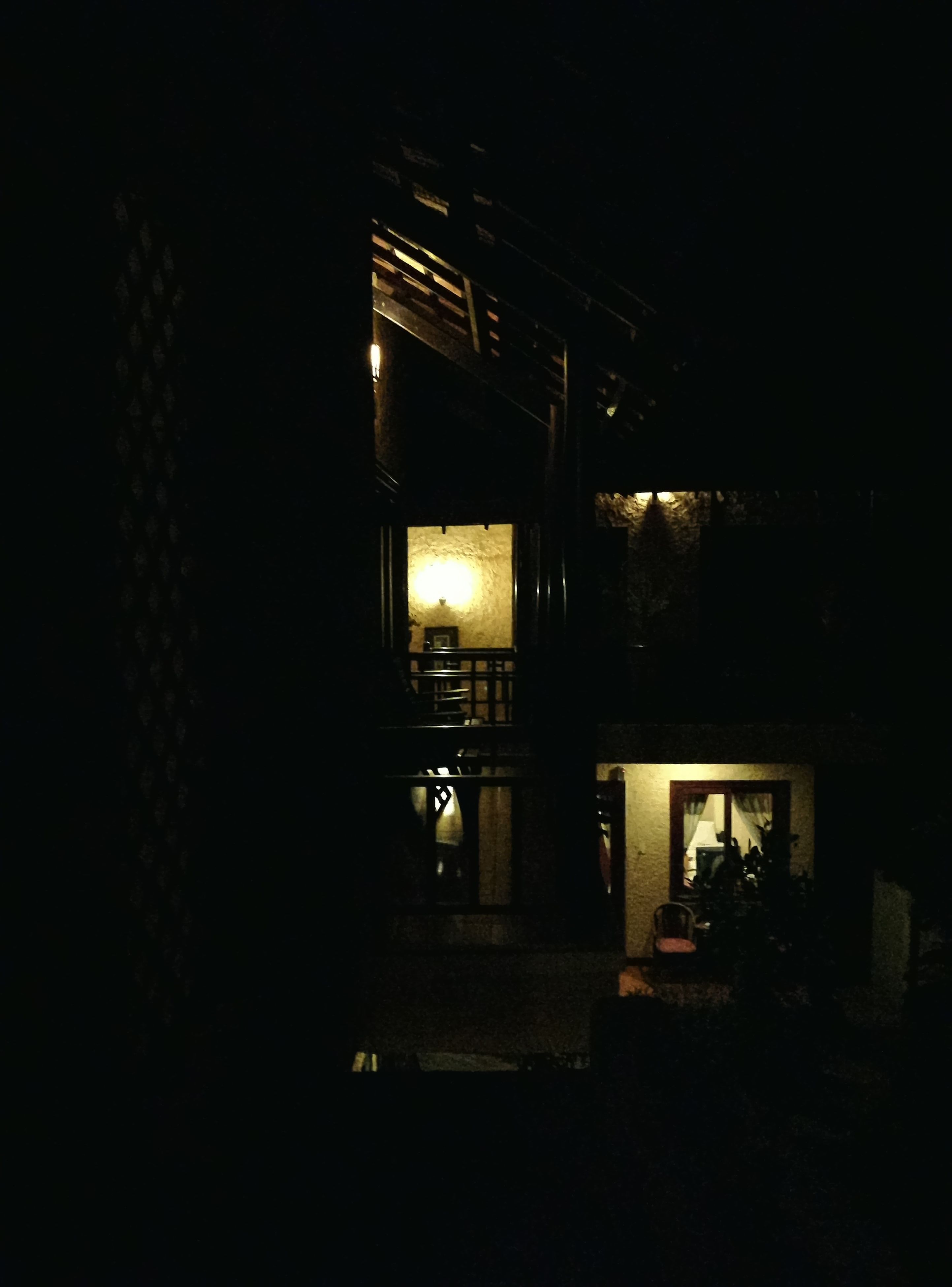night, illuminated, dark, architecture, built structure, no people, indoors, building exterior
