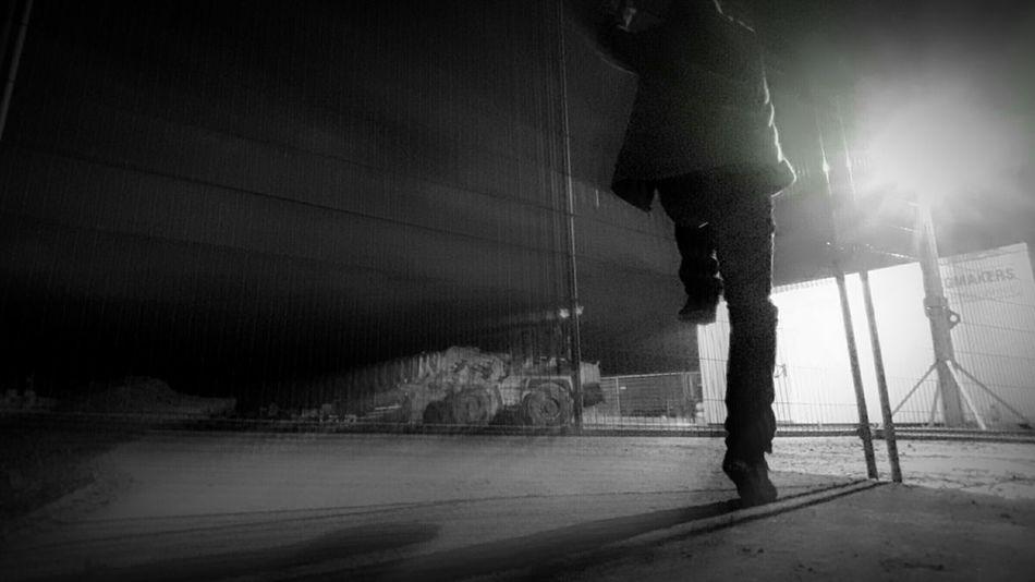 Exploring New Ground Adventure Club Hidden Gems  Riverdance Trespassing Fence Climbing Dark Silhouette Pivotal Ideas
