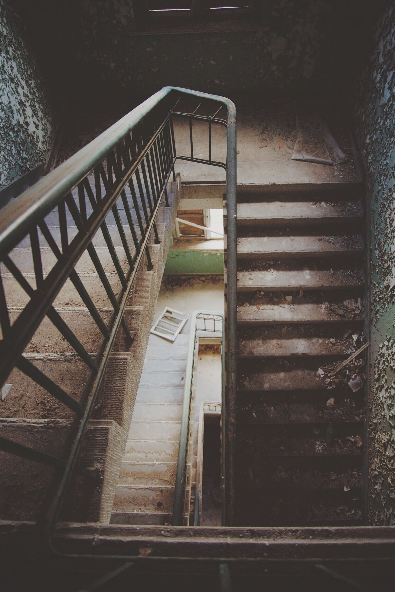 Walk those stairs. Lostplaces Lost Go2know Nikon Lychen
