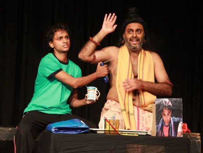 It was a good experence for me as an Actor...with our Theatre Group.... Live Act..