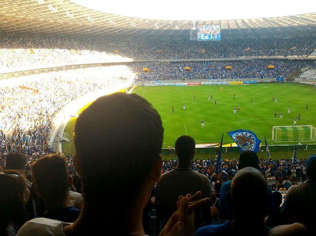 Football Fever Cruzeiroesporteclube Cruzeiro Matchday Mineirão Blue&white