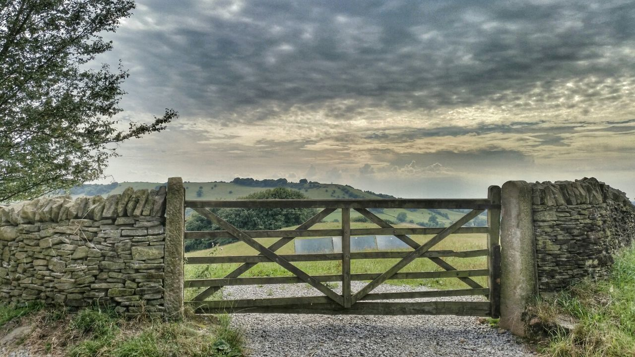 Cheshire Countryside Fence