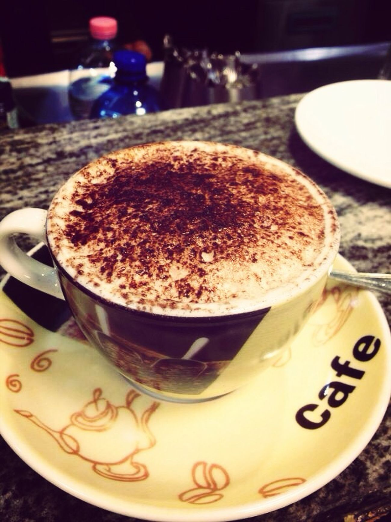 Caffè Cafe Cappuccino Cacao