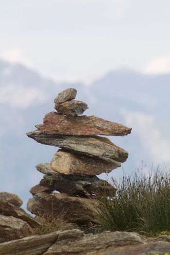 Hiking Tirol  Wanderlust Achtsamkeit Balance Beauty In Nature Mountains Nature Outdoors Stones Tranquility Wandern