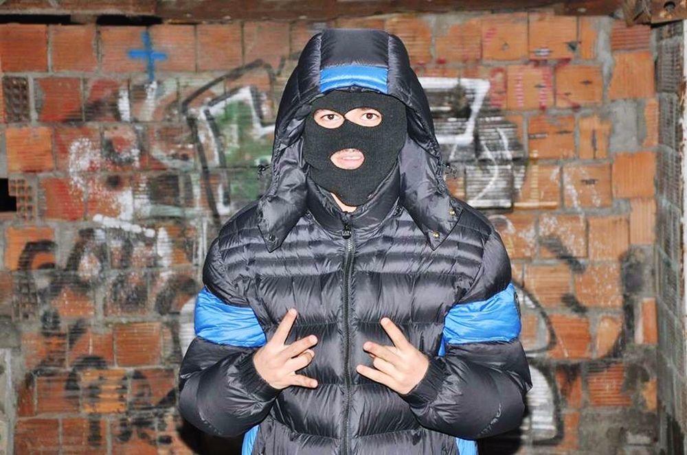 That's Me Hi! Taking Photos Gangsta Boom Gun