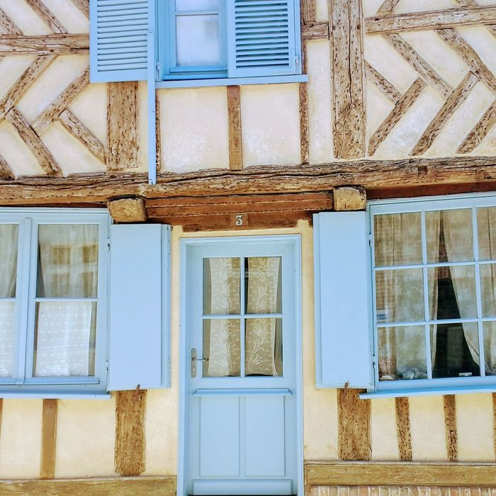 French village colors Architecture Built Structure Building Exterior House Façade No People Old Houses Houses&Homes Around The World Houses By The Sea Travel Destinations Architecture Buildings Coloured House Doors And Windows Around The World Blue The Street Photographer - 2017 EyeEm Awards The Architect - 2017 EyeEm Awards Multi Colored EyeEmNewHere The Week On EyeEm