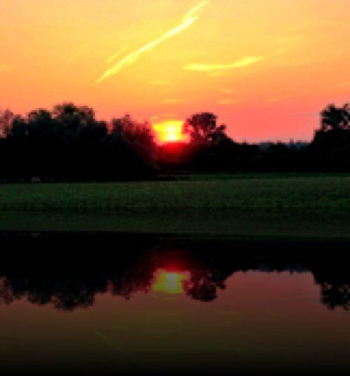 nice Sundown Muenster