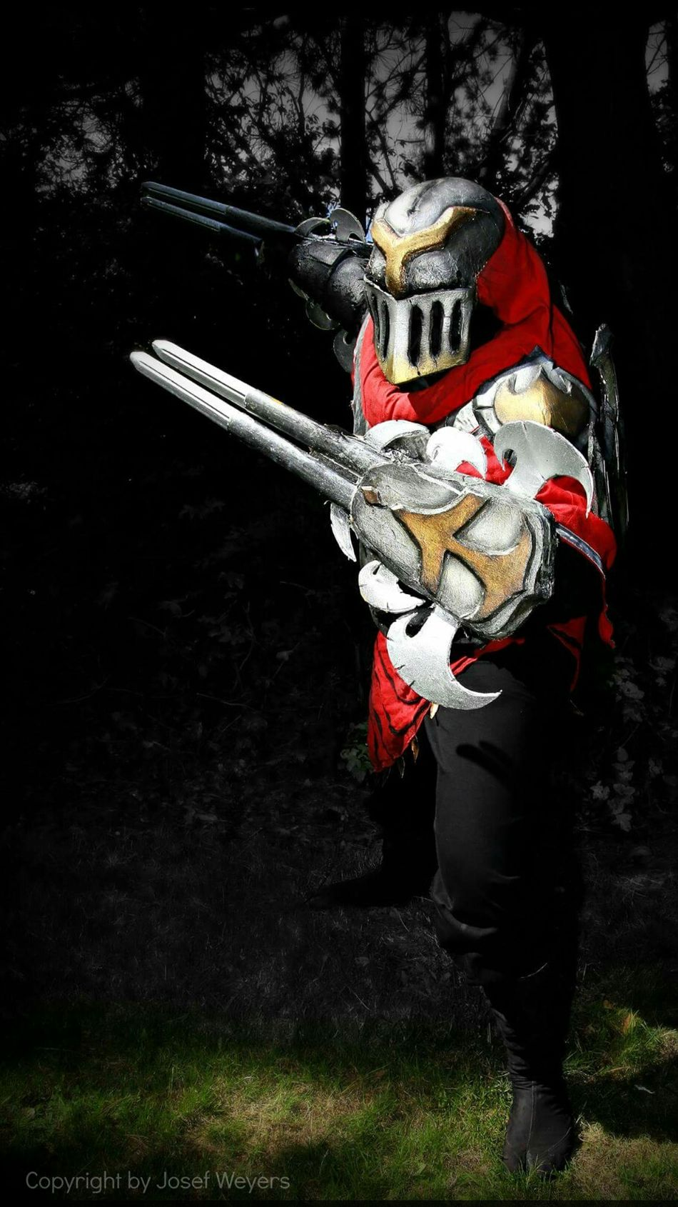 Cosplay Cosplayers Hi! League Of Legends Zed Cosplayer Cosplaying