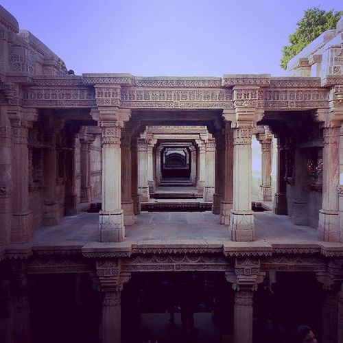 World Heritage Place...Adalajstepwell incredibleindia