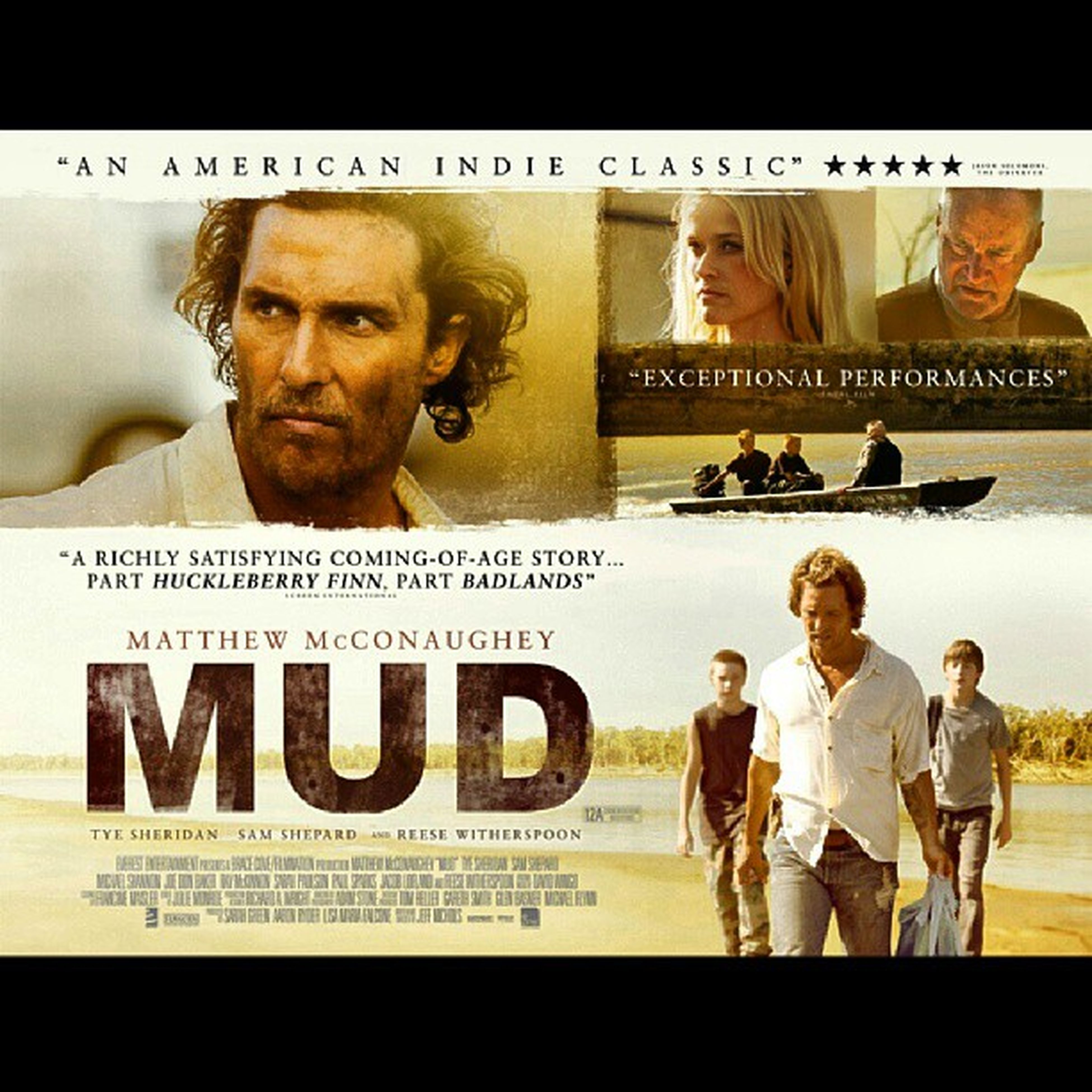 """CURRENTLY: Watchin' """"Mud""""... With Matthew. Sippin ' on Merlot and AppreciatingLife EnjoyYours"""