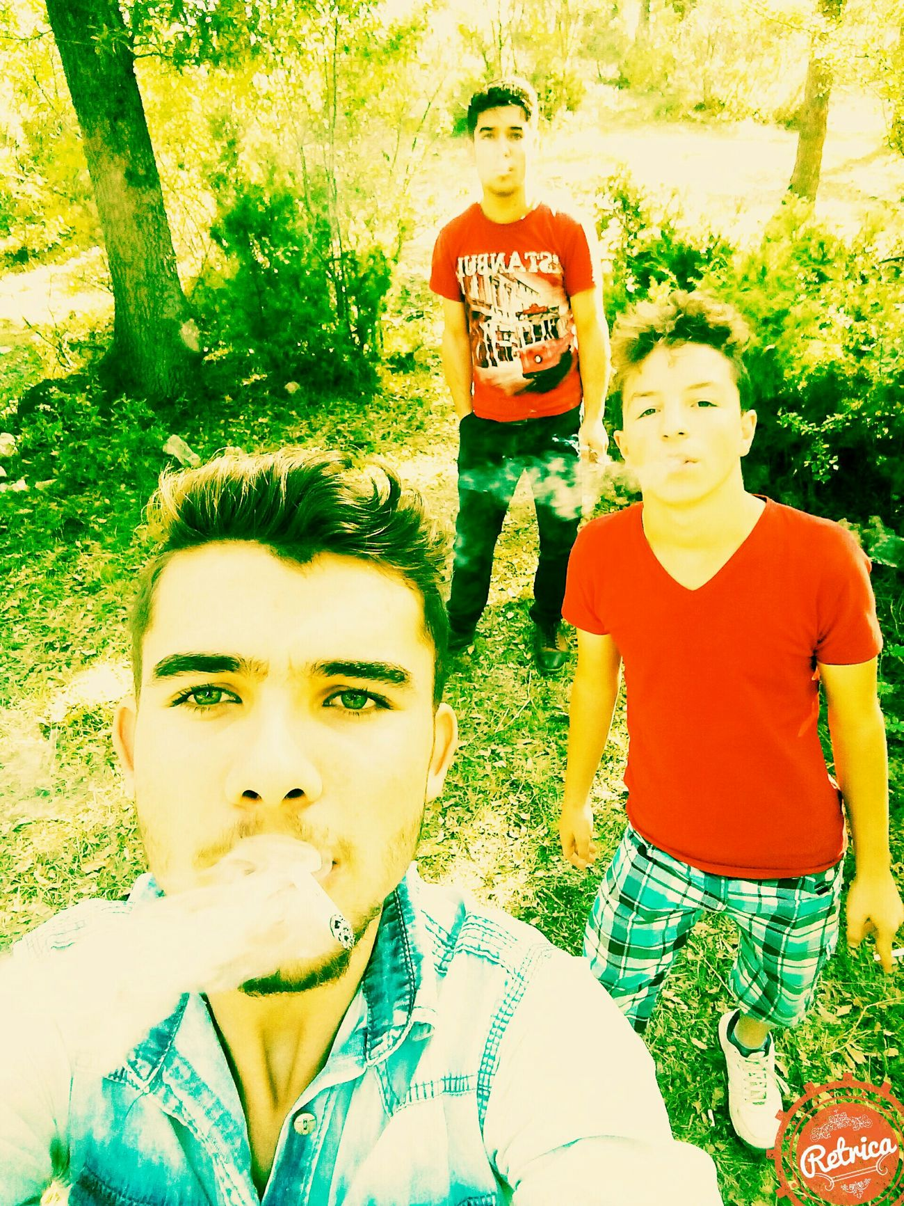 Sigara keyfi Ali Fuat Güler , Ferdi Pınar ile First Eyeem Photo