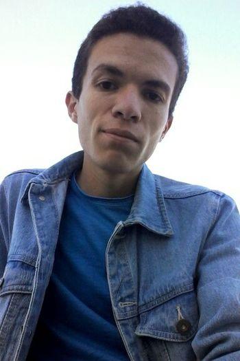 Selfie ✌ Denim Jacket Portrait Ugly Boy Ugly Face