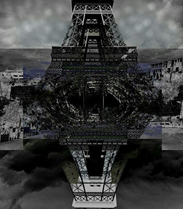 Getting Inspired Getting Creative Abstractart Paris, France  Terrorist Dark Eyes Seductiveart