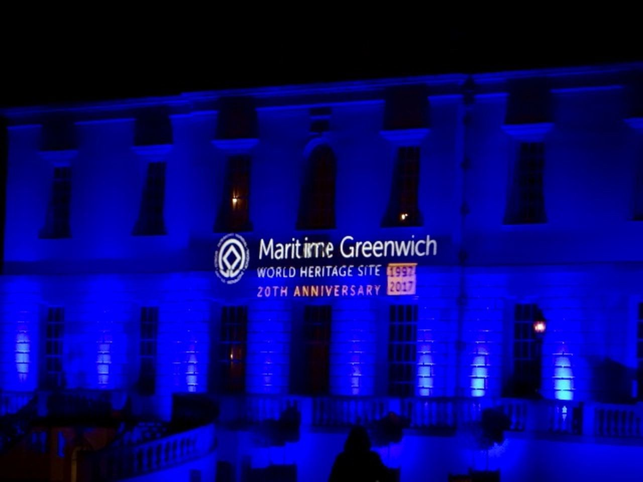 Maritime Museum Architecture Blue Building Exterior City Greenwich Park Heritage Site Illuminated Night No People Outdoors Text