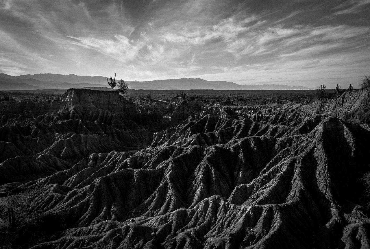 Black & White Black And White Desierto De La Tatacoa Desert Erath Nature Photography Physical Geography Sky And Clouds