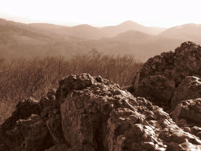 Black & White Black And White Blackandwhite Geology Mountains Nature Outdoors Physical Geography Rock Rock Formation Rough Sepia Tranquility Winter
