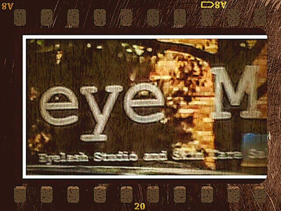 In my town there happens to be a salon called Eye M I Get A Kick Outa That! Check This Out Look Me In The Eyes Look What I Found EyeEm Meet Eye M Hello World Enjoying Life Funny Moments Coincidencetography Neato Salonlife Get Your Hair Did At Eye M Nameday Same Name.... Another Eye M Another Eye Em Streemzoofamily Eyeemphoto Two Is Better Than One