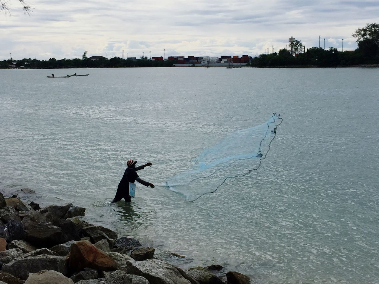 Day Thailand Outdoors Man Lifestyles Sea Culture Thai Thaiculture Songkla
