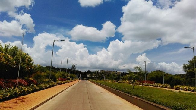 Beautiful scene from my college campus... Clouds And Sky