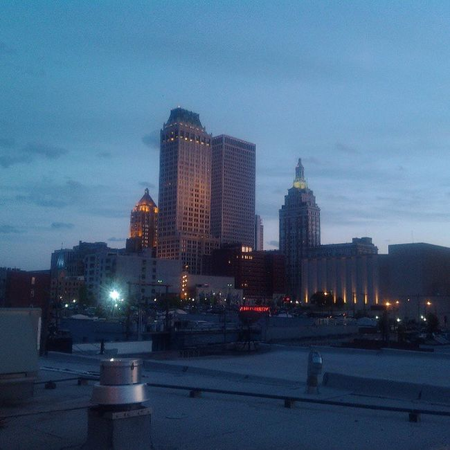 Roof top dinner at Elguapo 's with @hansonguy2013 and @missjex Hansonday Tulsa Fooood