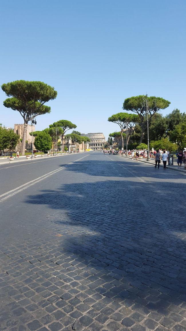 Original Original Photography Clear Sky Tourism Sunlight Nature Day Picture Originalpicture Originalpicture Road Way Of Life Rome