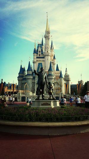 Disney World Mickey Mouse Cinderella Castle Walt Disney