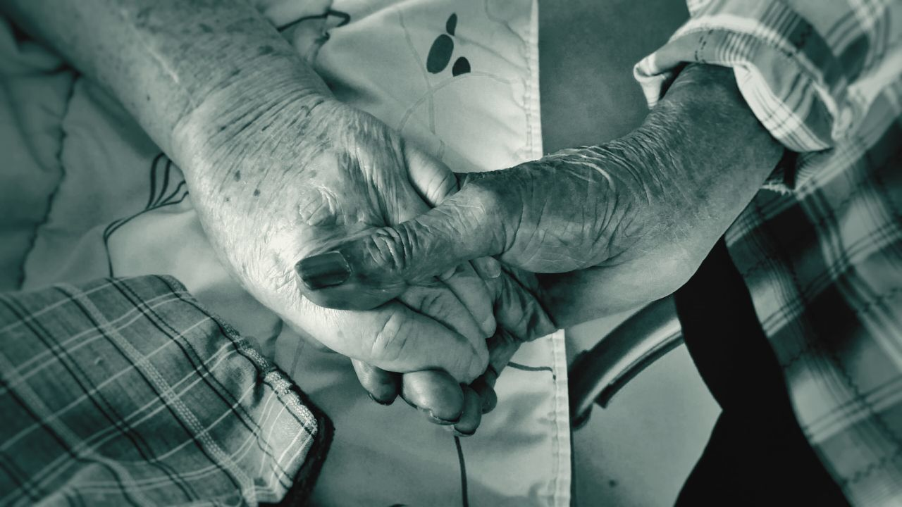 My Parents Holding Hands Human Hand Human Body Part Aged Wrinkled Two People Adults Only Togetherness 51 Years Together Compassion (c) 2017 Shangita Bose All Rights Reserved Love Old Age Black And White Monochrome Senior Adult Indoors  Community Outreach