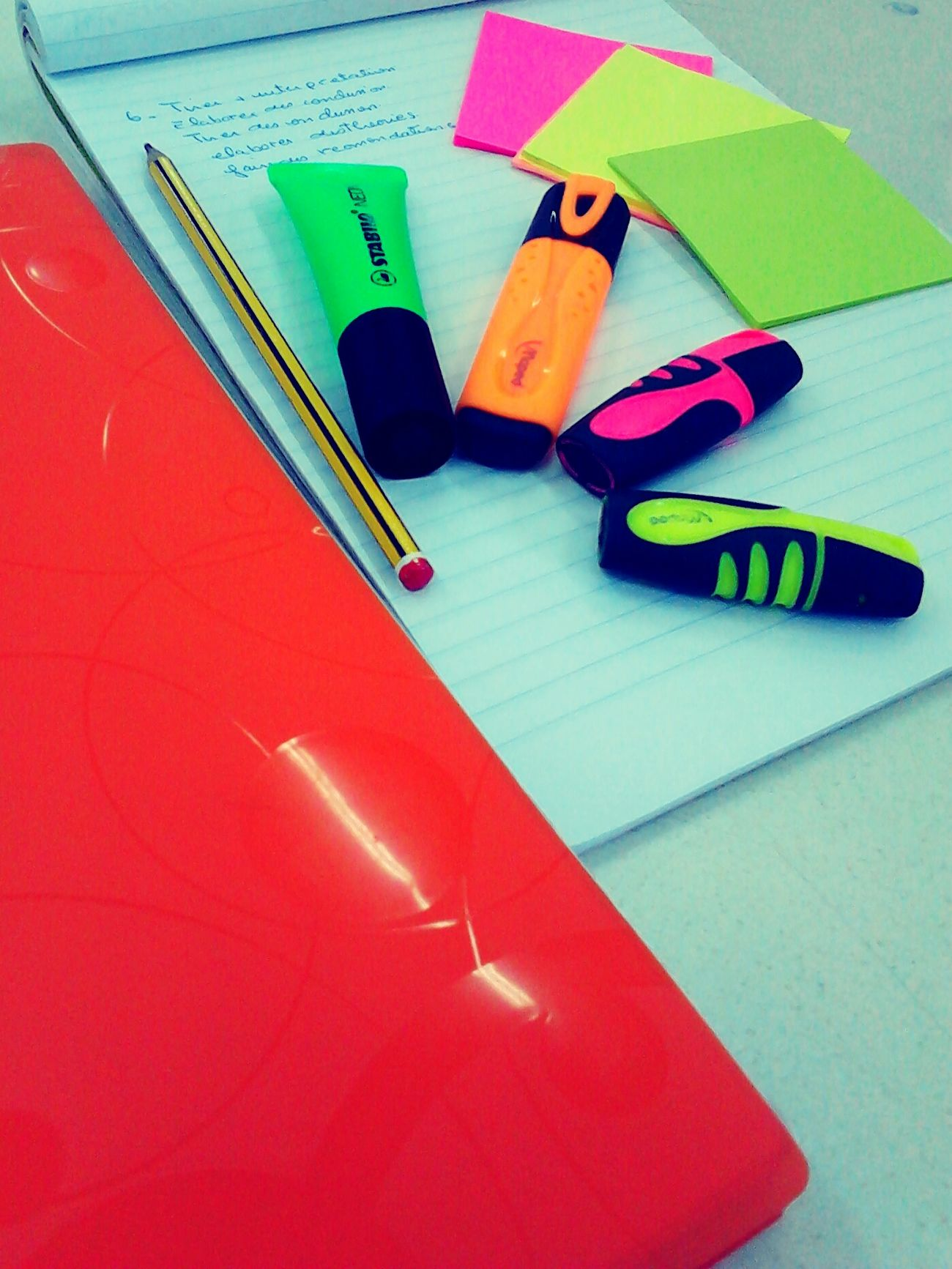 Desks From Above Studying Classroom Fluo