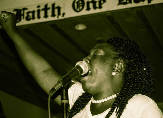 Church Contemplation Faith Headshot Indoors  Love ♥ Praising The Lord Singing Young Adult Young Woman