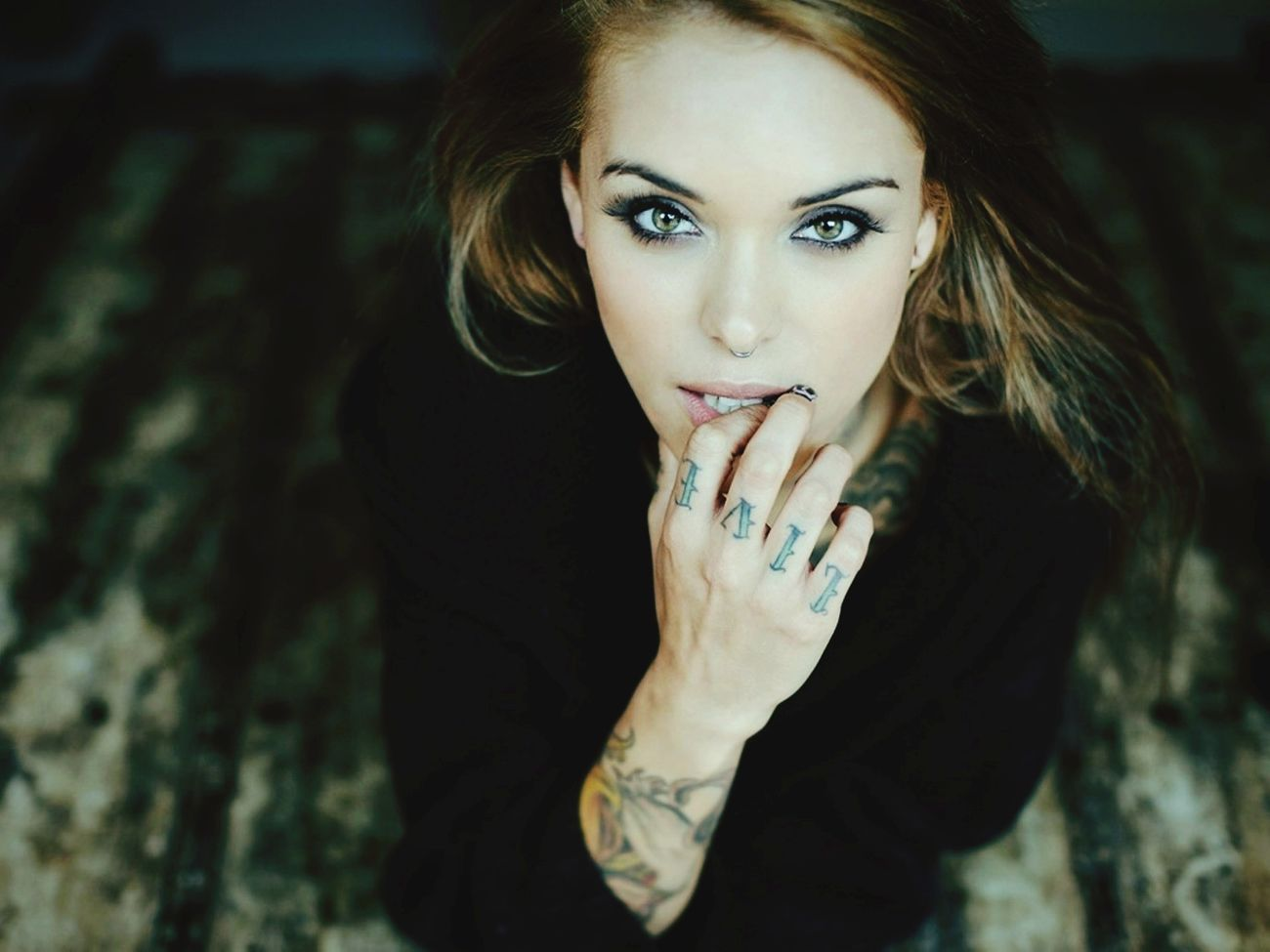 Beautiful Tattoo Lady Love It Today's Hot Look Fashion Photography Cute Artistic Hotgirl Sexygirl Hot Spring Flowers People Chick Art Taking Photos Belong Anywhere Enjoying Life Check This Out
