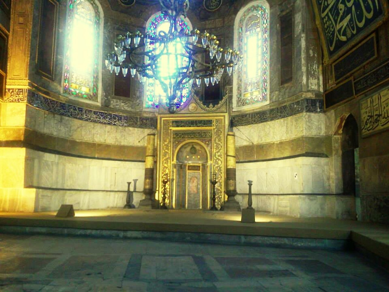 religion, place of worship, spirituality, architecture, indoors, illuminated, no people, built structure, statue, travel destinations, day