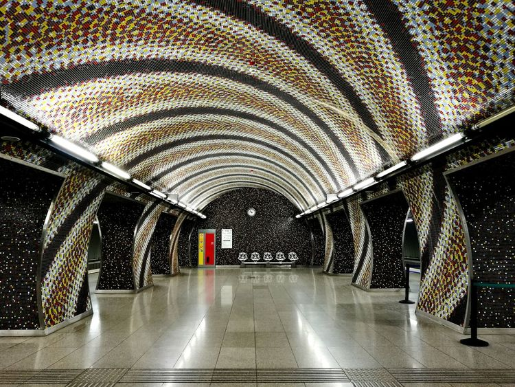 Indoors  The Way Forward Tunnel Transportation No People Built Structure Architecture Illuminated Day