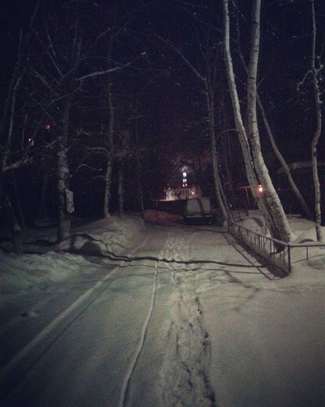 Omsk Siberia 7am  Morning Snow омск сибирь семьутра утро снег январь