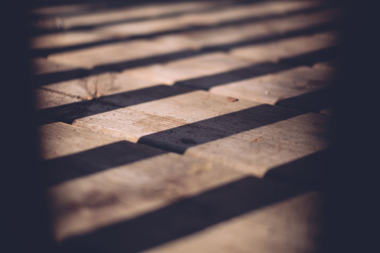 Backgrounds Close-up Day Full Frame No People Pattern Selective Focus Shadow Shadows Shadows And Light Sunlight Wood - Material