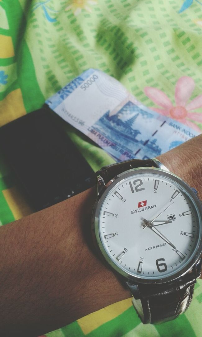 Time is money and gadget Watch Money Gadget