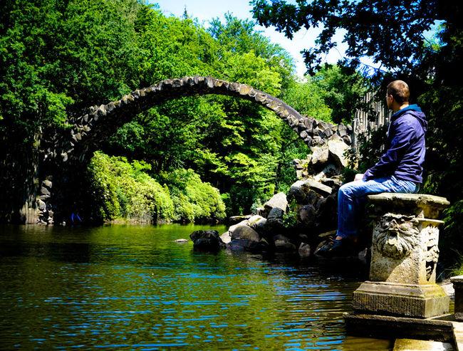 The view Beautiful Nature Beauty In Nature Hike Kromlau Landscape_photography Nature Outdoors Pond Rakotzbridge Tree Water