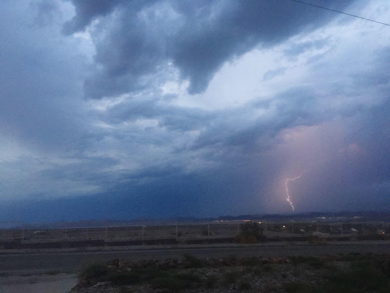 The Journey Is The Destination Lightning Storm Monsoon Season Desert Beauty