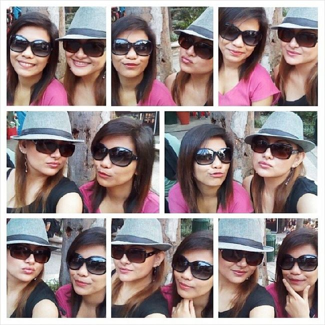 With Mygurl Shara at Eastwood CityWalk SelfieMode while waitin for BFF Reil 2014 Maiki MyLife MyIG MyHood MyEastwood MyWorld