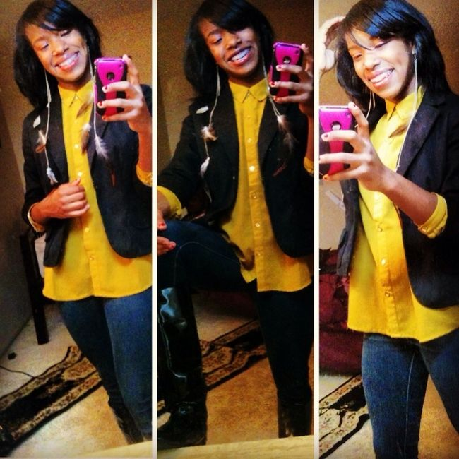 Feeling good today for church :)
