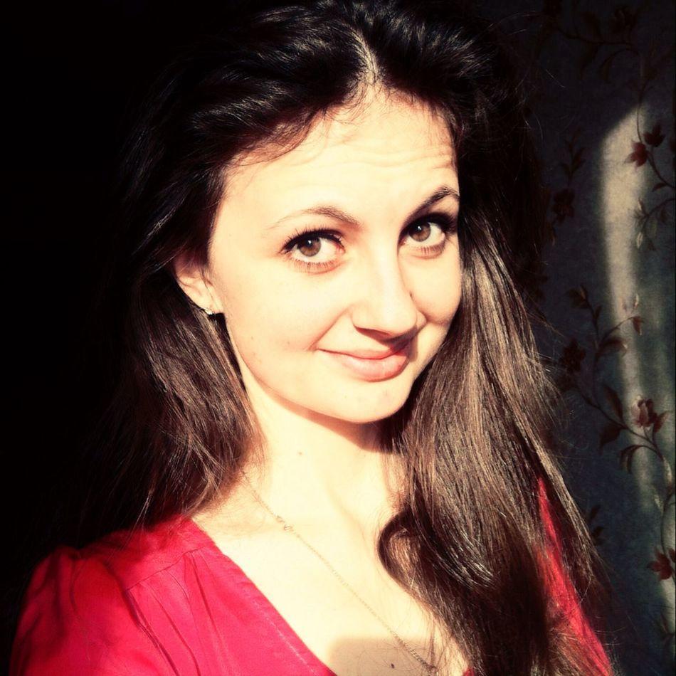 Russian Girl Girl Smile Hazel Eyes