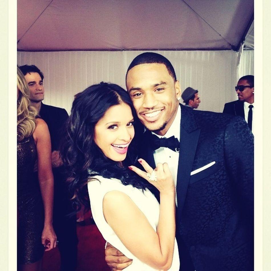 Rocsi And Trey Songz #Grammy Awards