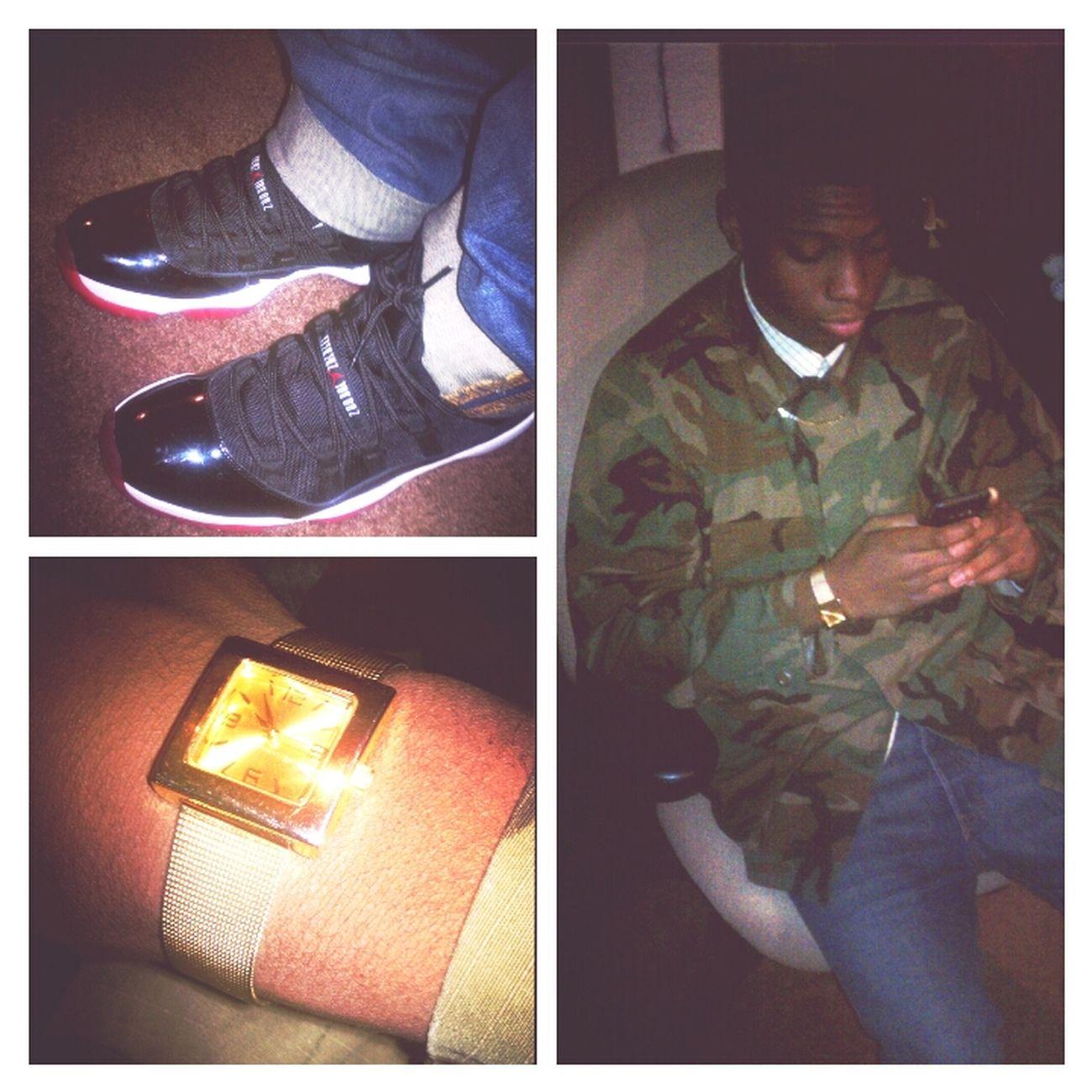 Hanging Out Kicks Air Jordan GOLD GANG Flee Flex God