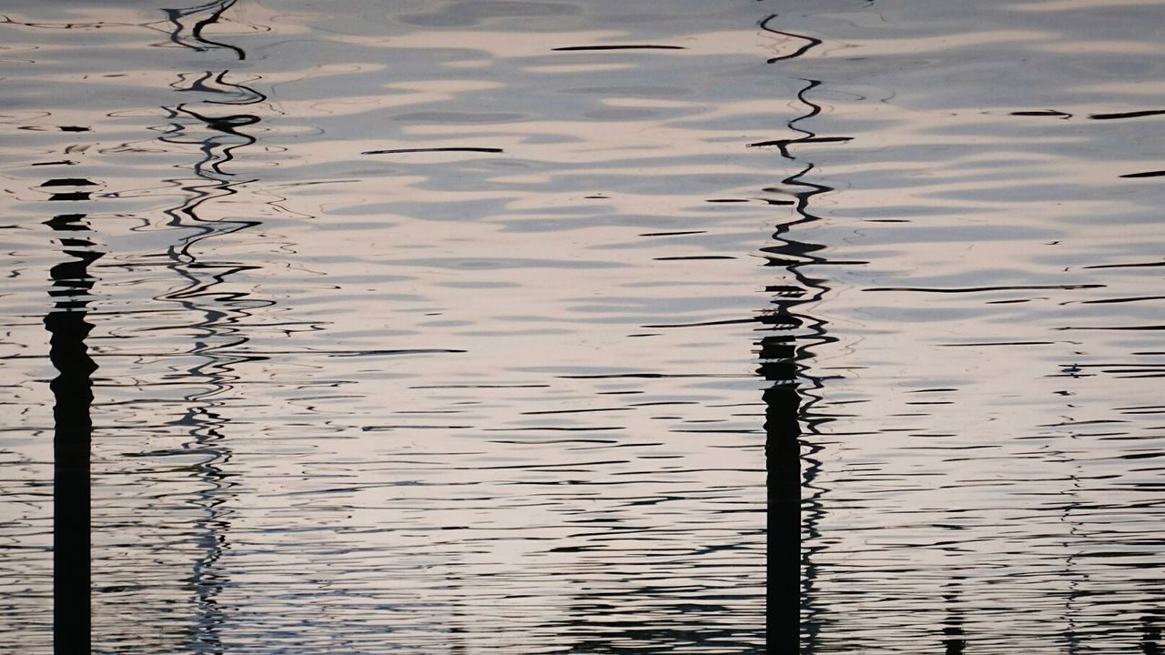 For boats only Sunday_flip 180° Open Edit Water Reflections Silhouette Water Pattern Pieces